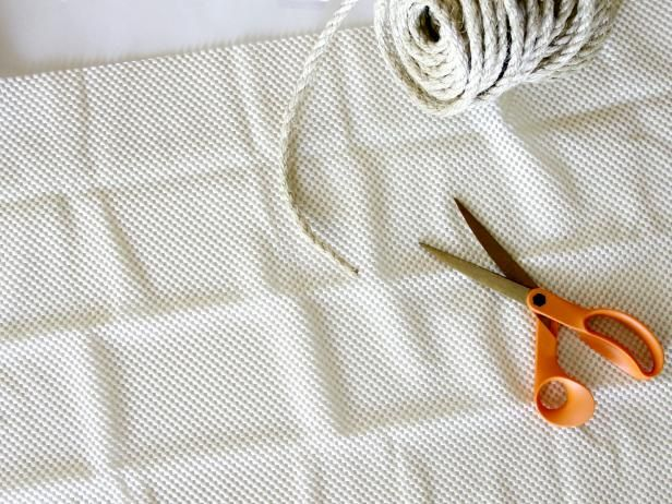 How to Make Cottage-Style Rug From Sisal Rope | Braided ...
