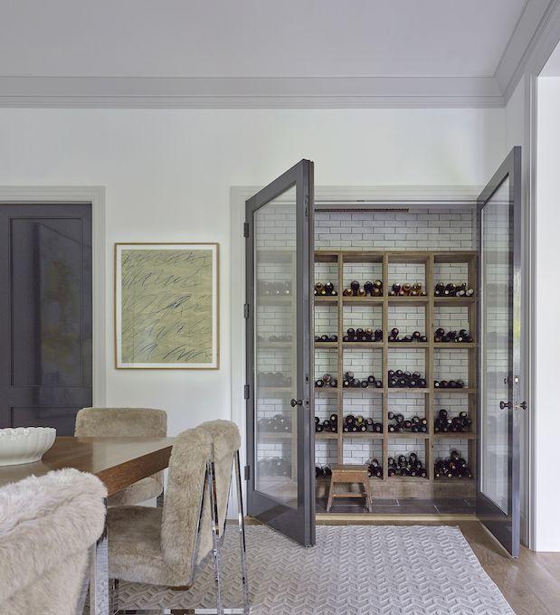 Pacific Palisades U2013 Dan Scotti Design | Wine Cellar