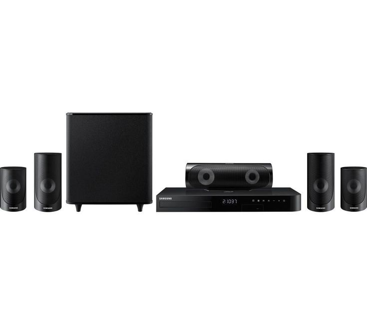 SAMSUNG  HT-J5500 5.1 Smart 3D Blu-ray & DVD Home Cinema System Price: £ 279.00 Get the most from your at home entertainment and experience immersive viewing with the Samsung HT-J5500 5.1 Smart 3D Blu-ray and DVD Home Cinema System. Surround sound Complete with five speakers and a powerful wired subwoofer, the HT-J5500 delivers room-filling surround sound at home. Small enough to be discreet...