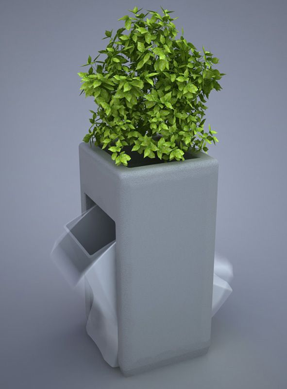 M. Firat Ant | Public Trash Bin Concepts
