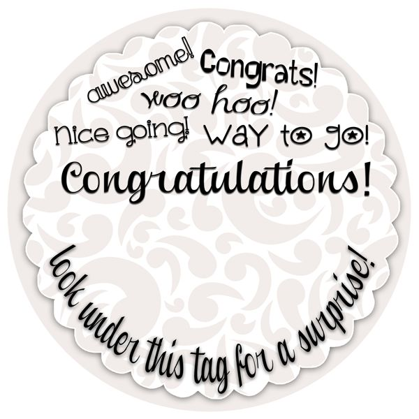 454 best graduation printables images on pinterest graduation congratulations gift tag to go with a creative cash gift free printable at inkhappi negle Images
