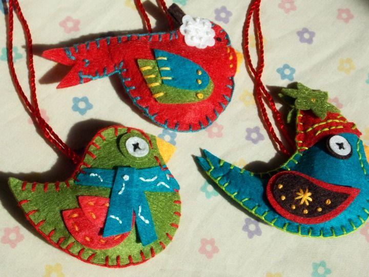 Friday Spotlight: Julie's Hand Sewn Christmas Ornaments — SewCanShe   Free Daily Sewing Tutorials