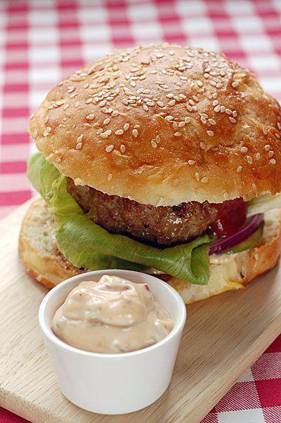 Hamburger (buci és hús) - Fűszer és Lélek