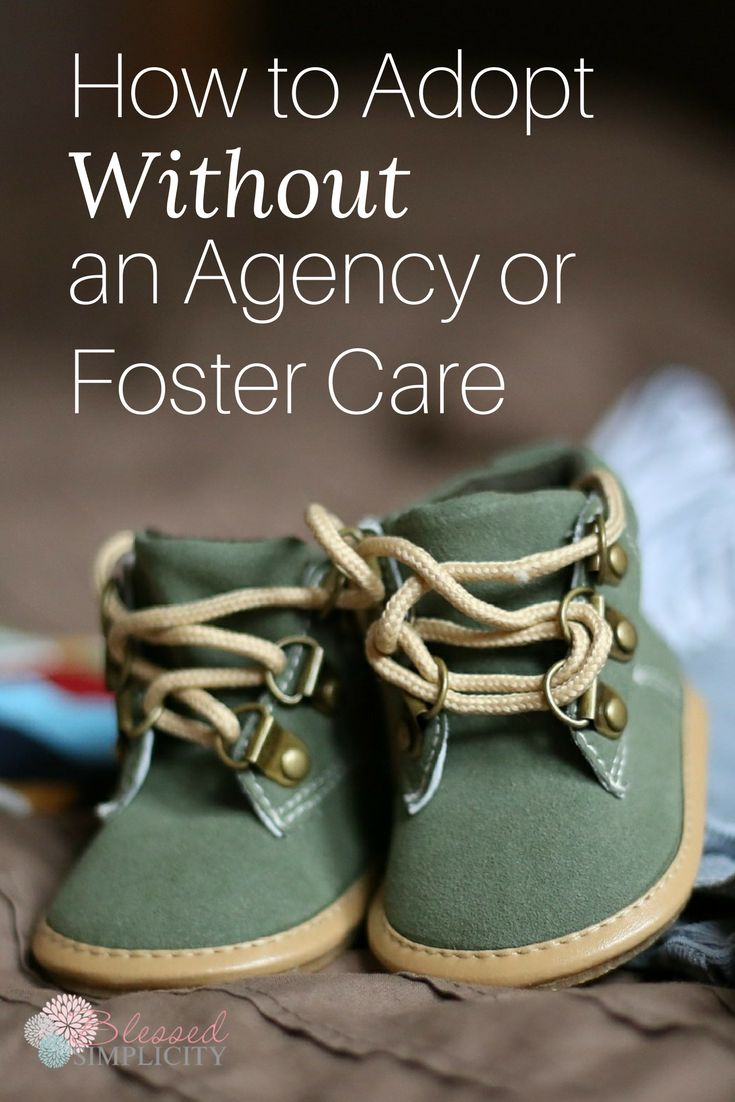 Adoption is possible without an agency or foster care!  Here's one way to get it done.