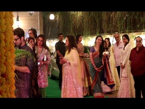 Bollywood celebs & Television celebs at Ekta Kapoor's house for Diwali party 2016.