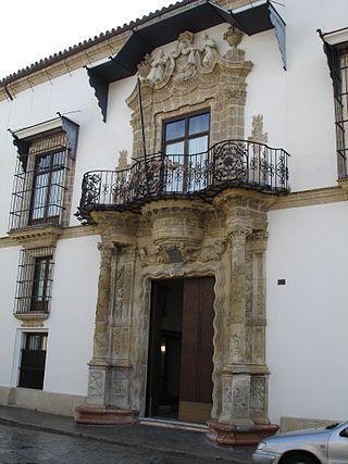 Palacio de bertemati jerez de la frontera c diz for Muebles en jerez dela frontera cadiz