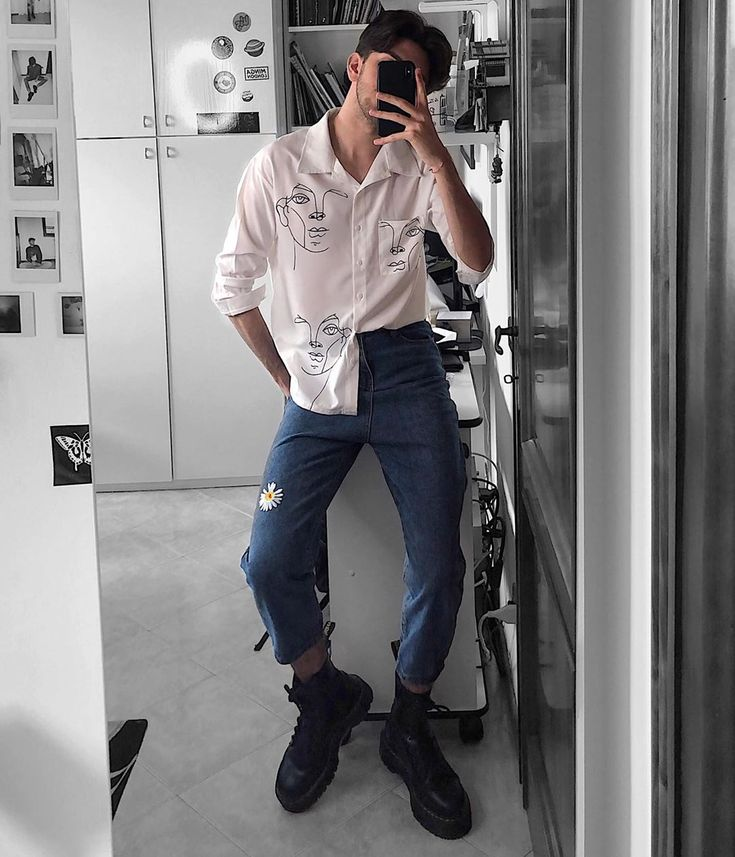 Alasio Aesthetic Eboy On Instagram Comment Your Favorite Outfit Mens Fashion Streetwear Mens Outfits Retro Outfits