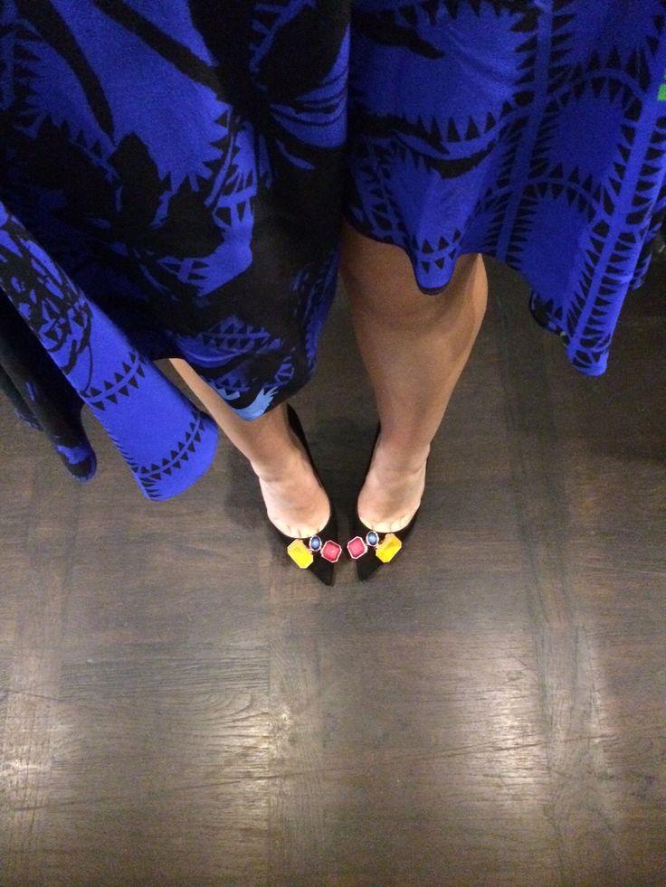 The Charlotte Olympia heels of dreams... #BritsInBrits #InStyleBAFTA