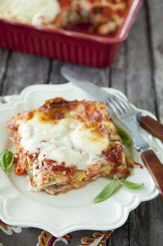 Paula Deen's Garden Full of Goodness Veggie Lasagna