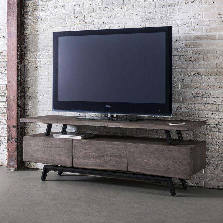 TV-skrinka   Rozmery: 165x45cm  Výška: 60cm  Material: Drevo Acacia tmavá  TV-skrinky a obývacie izby, Nábytok do obývacej izby v modernom dizajne. Holandský výrobca v kolekcii Exclusive predstavuje nábytok podľa najnovš&i