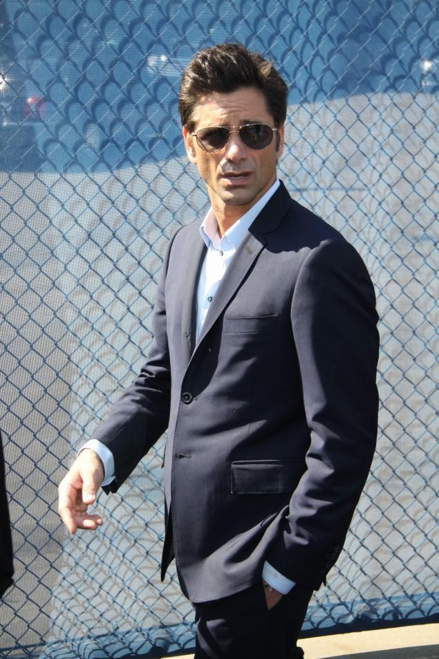 John Stamos - Uncle Jesse He might be older but his smile and charm have stayed the same. HAVE MERCY!!!