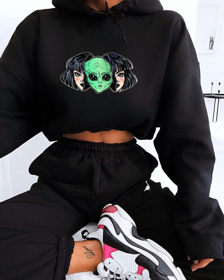 New Black Hoodie Alien For Upcoming Style Season In USA