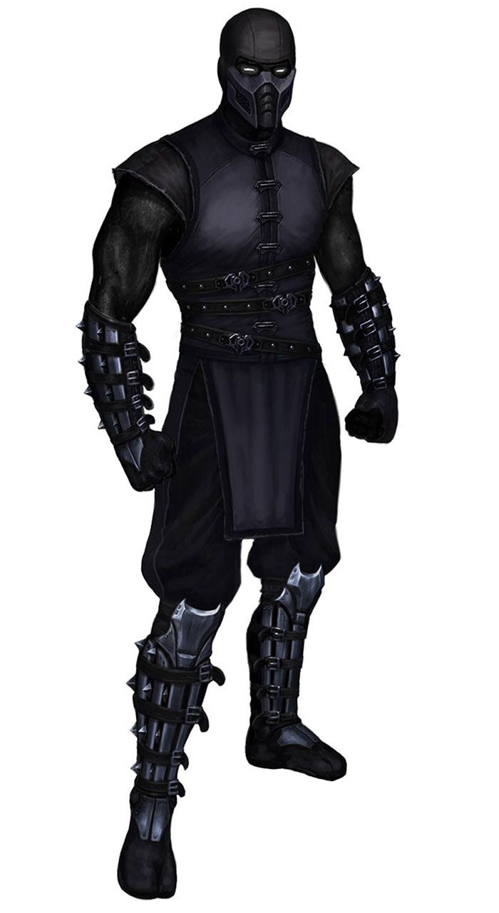 Noob Saibot (MORTAL KOMBAT) I always hated fighting him. he is so hard to beat