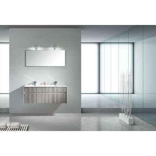 "Found it at Wayfair - Tona Fitto 48"" Double Sink Modern Bathroom Vanity Set"