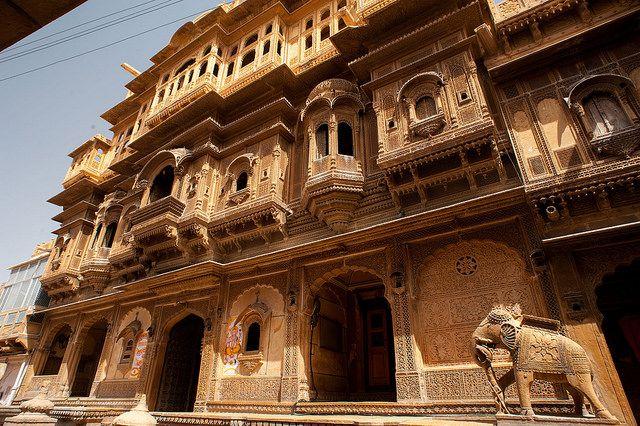 Haveli Jaisalmer, Vacance inde, voyage inde, rajasthan inde, circuit inde, circuit au rajasthan