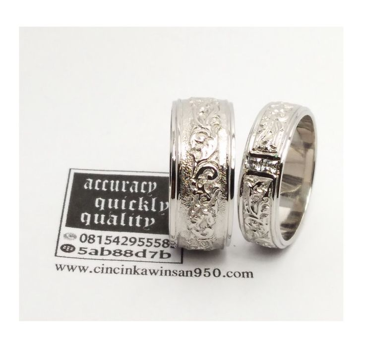 couple ring real handmade 950 silver craftsmith kotagede yogyakarta
