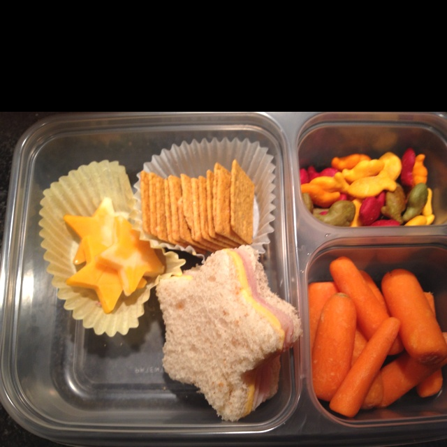 My Simple 1st Bento Lunch For 5 Year Old