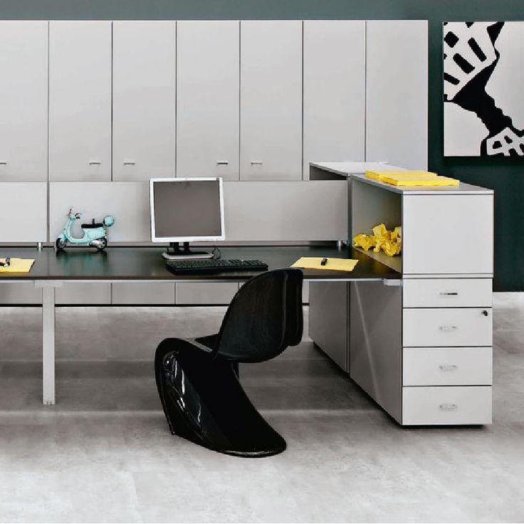 La variedad de configuraciones, las soluciones para los diferentes niveles de tecnología,  materiales, calidad de acabados y colores hacen parte  de un proyecto único, un pensamiento a la calidad de la vida en la oficina, antes que a la gestión del espacio simple. #Qualcomm #Furniture