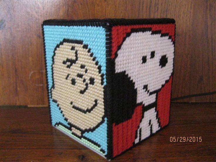 plastic canvas tissue box cover dimensions 2