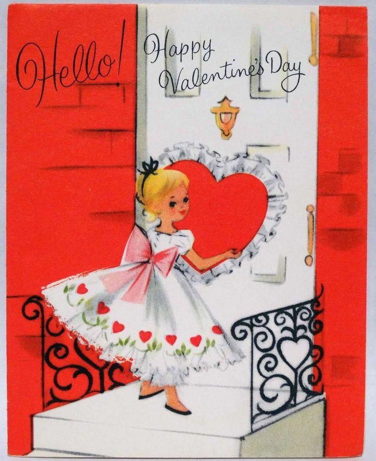 29 best Vintage Valentines images on Pinterest  Cards Creativity