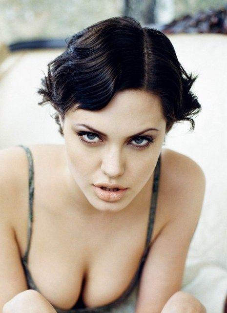 Angelina Jolie Short Hairstyles