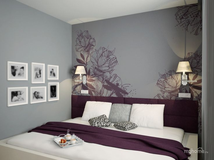 Картинки по запросу спальня в фиолетовых тонах