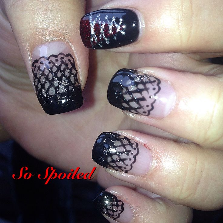 7 best nails moulin rouge images on pinterest art art ideas and bio sculpture nail art design fall 2013 burlesque nails inspired by another pin prinsesfo Image collections