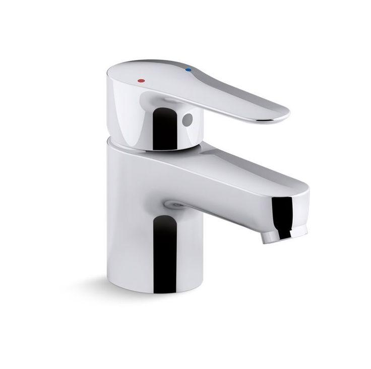 Kohler K-P97282-4 July 0.5 GPM Single Lever Handle Commercial Faucet Polished Chrome Faucet Lavatory Single Handle