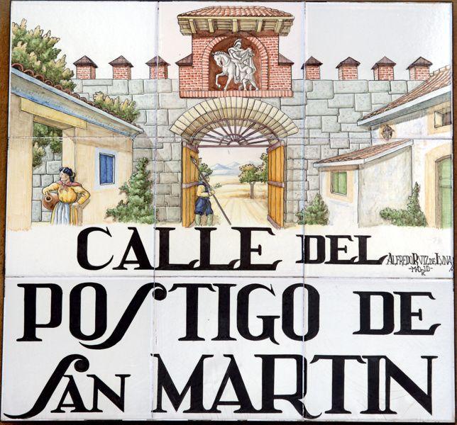 Calle del Postigo de San Martín