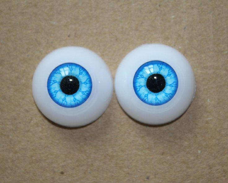 22 mm Doll Eyeball Toys Eyeball Half Round Acrylic doll Eyes FX02  $5.99