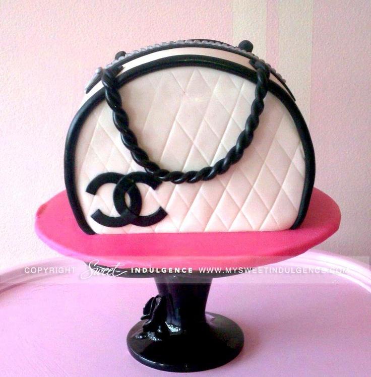 41 best Handbag Cake Ideas images on Pinterest Handbag ...