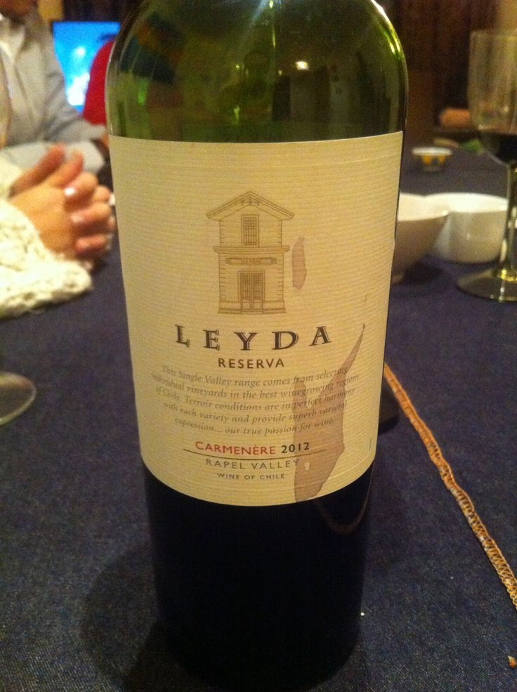 Leyda Reserva Carmenere 2012 Rapel Valley Wine of Chile