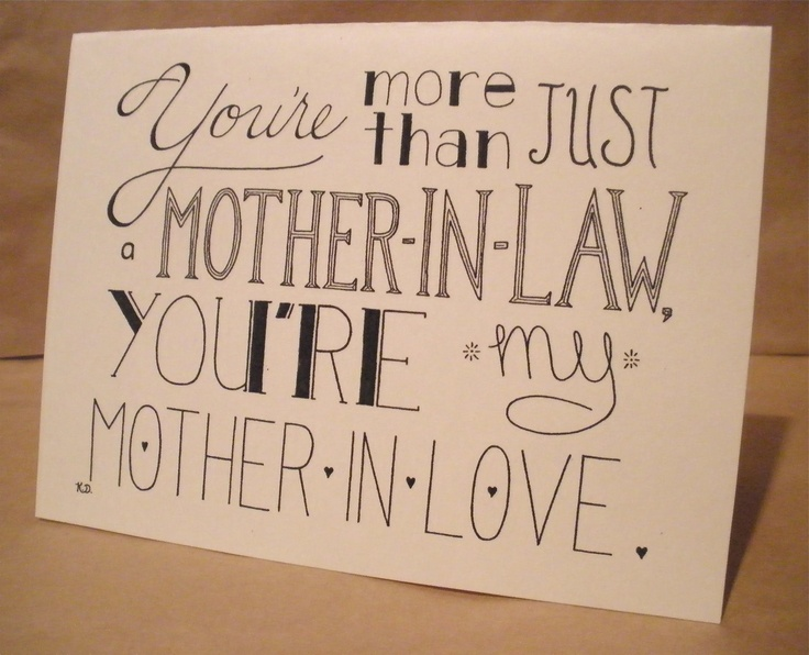 Best Mother In Law Birthday Quotes: 63 Best Images About My Mother And Mother-in-Love On