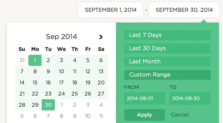 30 Best Free Calendar & Datepicker jQuery Plugins - Vandelay Design