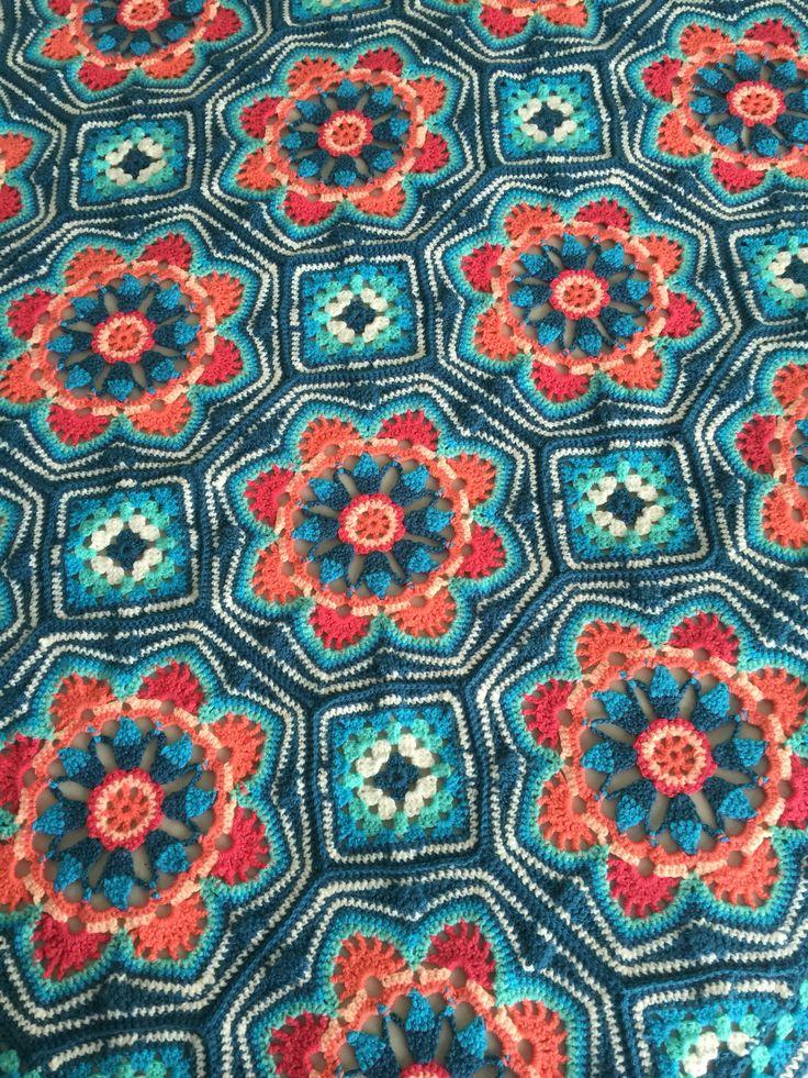 Persian Tile Blanket pattern by Jane Crowfoot | Crochet ...