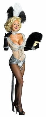 Showgirl Marilyn Sexy Adult Costume