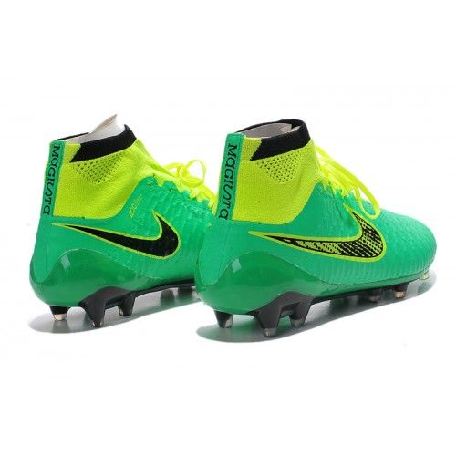 Buona Nike Magista Obra FG Verde Scarpe Da Calcio