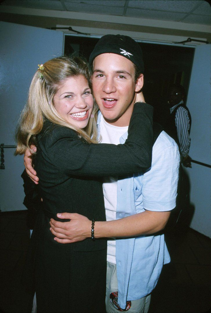 Pin for Later: Let's Travel Back to 1999 and Go Backstage at This *NSYNC Concert Boy Meets World stars Danielle Fishel and Ben Savage were there, too. Remember how Danielle Fishel brought Lance Bass to prom?