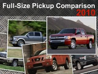 First to Worst: 2010 Full-size Pickup Truck Comparison Test