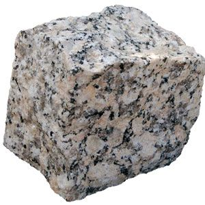 Granito:Es una roca ígnea o magmática plutónica ,granulada,compacta ,muy dura, no calcárea, de aspecto cristalino y fácil pulimento. Constituida fundamentalmente por 3 tipos de cristales cuarzo(gris)feldespato(blanco,rosa salmón o rojo) y mica biotita (negro). Patricia.