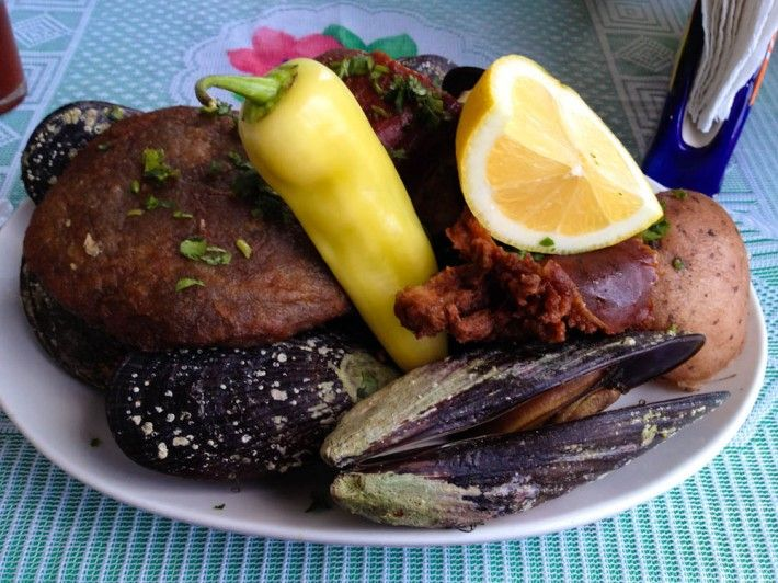 Curanto is traditionally a dish from Chiloe Island but, beloved as it is by many, has been adopted by different regions of Chile and can now be found at large in Patagonian areas and even Easter Island!