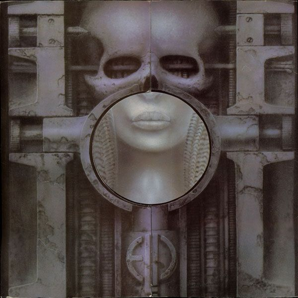 "CvA032. Emerson, Lake & Palmer - ""Brain Salad Surgery"" by H.R.Giger / Manticore Records 1973 / #Albumcover"
