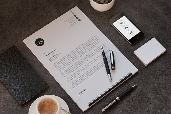 letterhead by Designsbird on @creativemarket