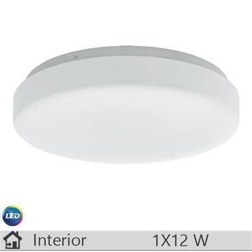 Plafoniera LED iluminat decorativ interior Eglo, gama Beramo, model 93639