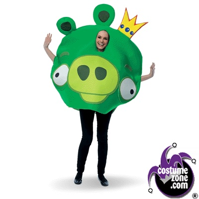 Rovio Angry Birds - King Pig Adult Costume (Men's Adult Regular Size)  Rovio Angry Birds - King Pig Adult Costume (Men's Adult Regular Size)  Rovio Angry Birds - King Pig Adult Costume (Men's Adult Regular Size)    Includes: Character Tunic. Does not include pants or shoes.