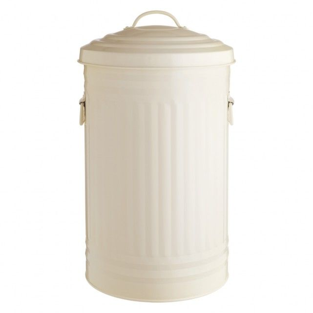 The Alto cream kitchen bin 52l is a solid, Habitat designed archetypical kitchen bin with lid and carry handles.[br]A stylish addition to the kitchen, the bin is easy to clean and has an inner bin bag retainer ring to keep the bin bag in place.[br]Part of the Alto steel bin collection available in 2 sizes and various colours.