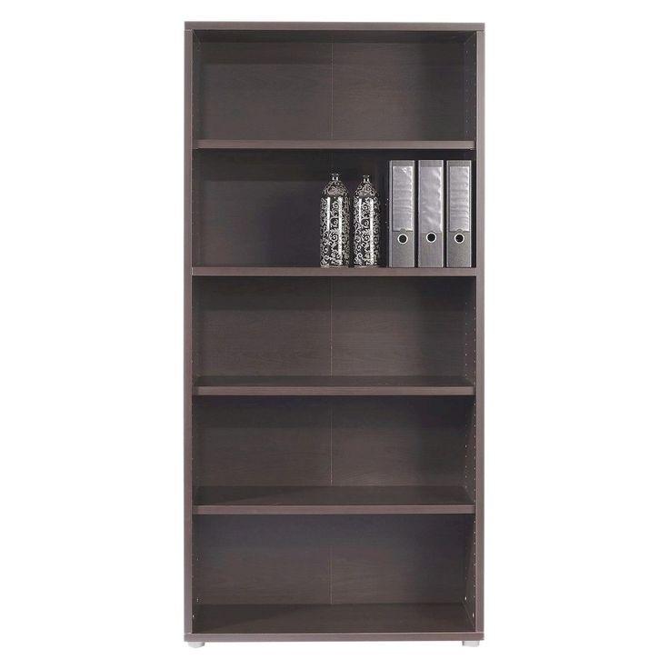 Prima 4 Shelf Bookcase Coffee (Brown) - Tvilum