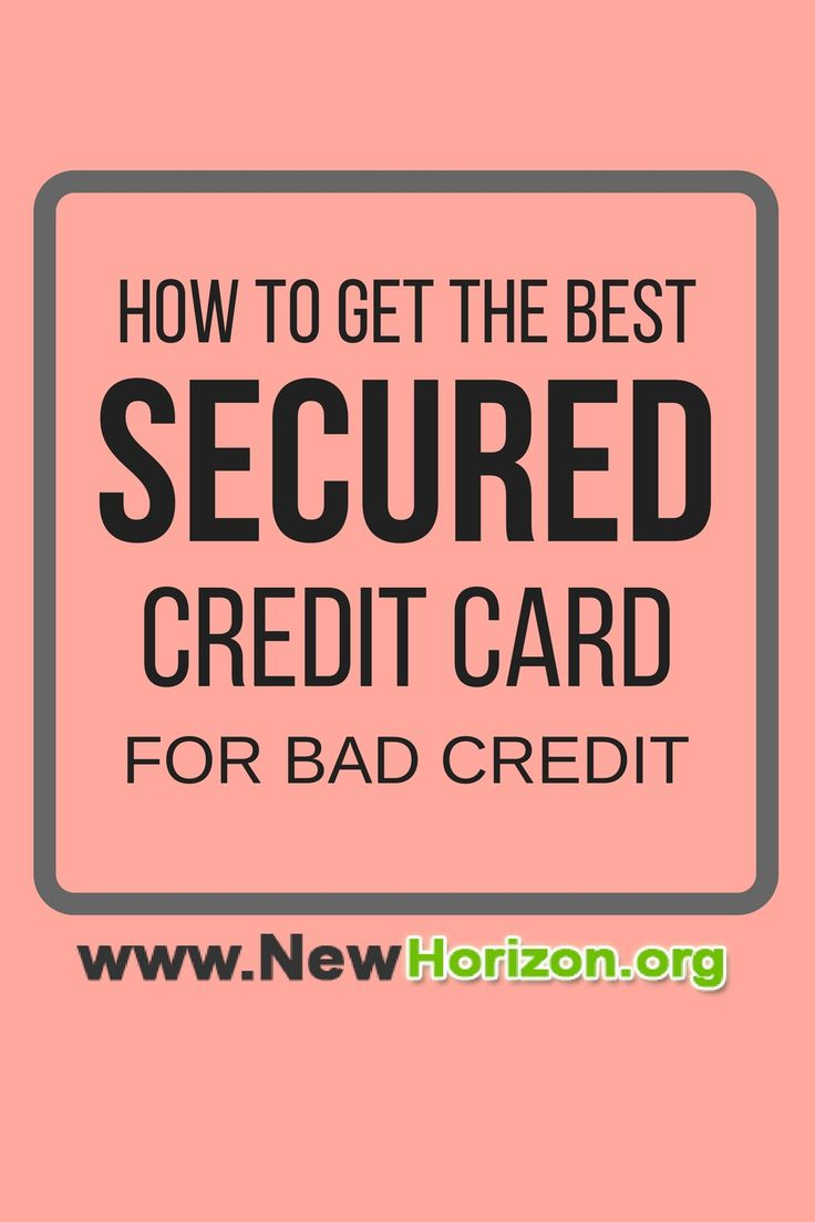 If you are starting to improve your credit score, it is easier and best to start with a secured credit card.Here's how to choose the best secured credit card for bad credit.