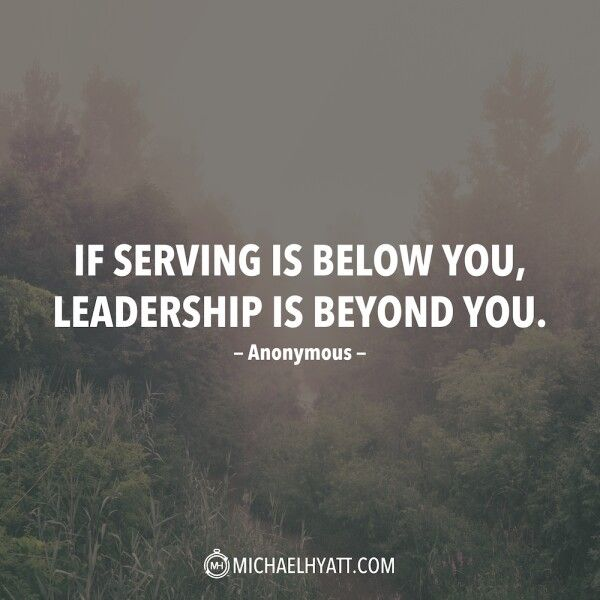If serving is beyond you....