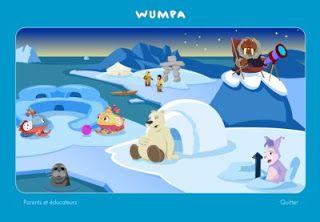 Le Grand Nord, les animaux polaires, l'arctique au cycle 1: Un site à découvrir absolument: Wumpa